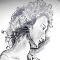 Arte: APUNTE DE ROSTRO RENACENTISTA. Lote 53954695