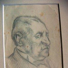 Arte: DIBUJO FIRMADO JOAN MARTI 1926. Lote 54154805