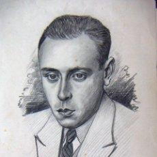 Arte: DIBUJO FIRMADO FRANZ DRAWETSCHER WIEN 1930. Lote 54155222