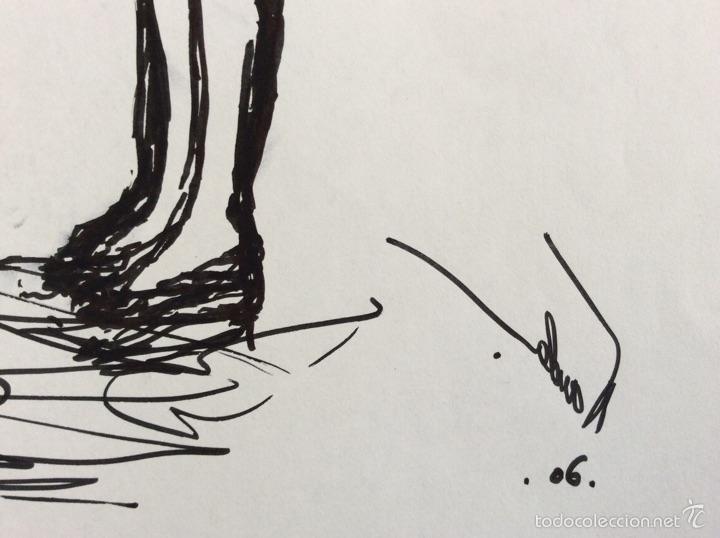 Arte: Dibujo original de Nanda Botella 29.5x21cm. Esta en perfecto estado, - Foto 2 - 54281739
