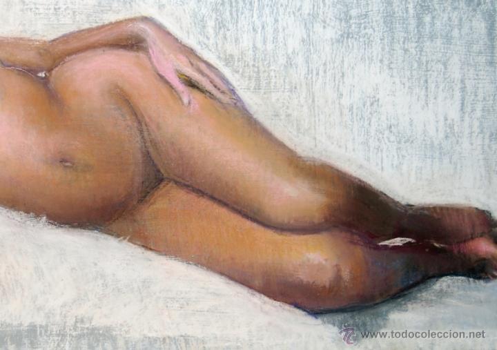 Arte: 2x DESNUDOS FEMENINOS - ORIGINAL 1970's - ¡ Extraordinarios ! - Foto 10 - 29783540
