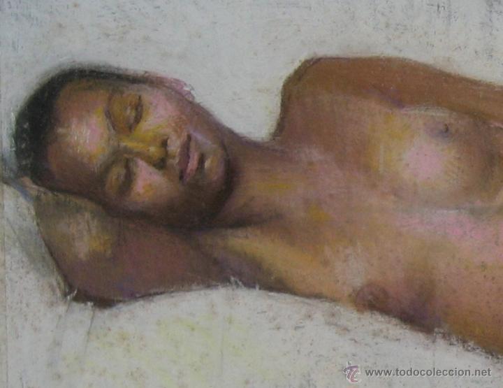 Arte: 2x DESNUDOS FEMENINOS - ORIGINAL 1970's - ¡ Extraordinarios ! - Foto 11 - 29783540