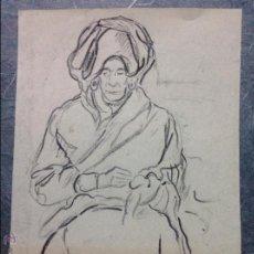 Francisco Iturrino. Anciana.