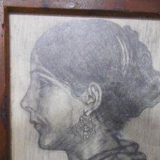 Arte: DIBUJO ORIGINAL DE CAYETANO RUBÍN DE CELIS (1898-2000),ALCALDE DE LLANES, AÑOS 20, MODERNISTA, DECO. Lote 54605091