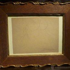 Arte: CARICATURA DE SANTIAGO RUSIÑOL POR LLUIS BAGARIA (1882-1940). Lote 54629798