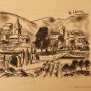 Arte: DIBUJO DE ERNEST IBAÑEZ NEACH / LLEIDA 1920 - 2011. Lote 54766160