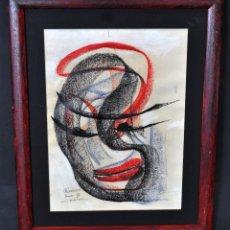 Arte: FIRMADO RAMON GIL. DIBUJO A CERAS FECHADO DEL AÑO 2005. ABSTRACCIÓN. Lote 54781904