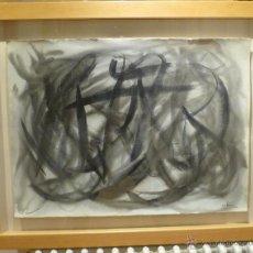 Arte: MAGNIFICA OBRA DE EVARIST VALLES (1923-99) DE 1962. GRANDES DIMENSIONES.. Lote 54790103