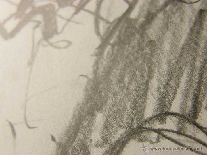 Arte: dibujo lapiz sobre cartulina pero qué birria ja ja ja chico carcajada risa firmado cesar 01 64x45,5 - Foto 12 - 54801031
