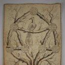 Arte: ÁRBOL GENEALÓGICO - CIUDAD DE BARCELONA - DIBUJO A TINTA - SIGLO XVIII - XIX. Lote 49322752