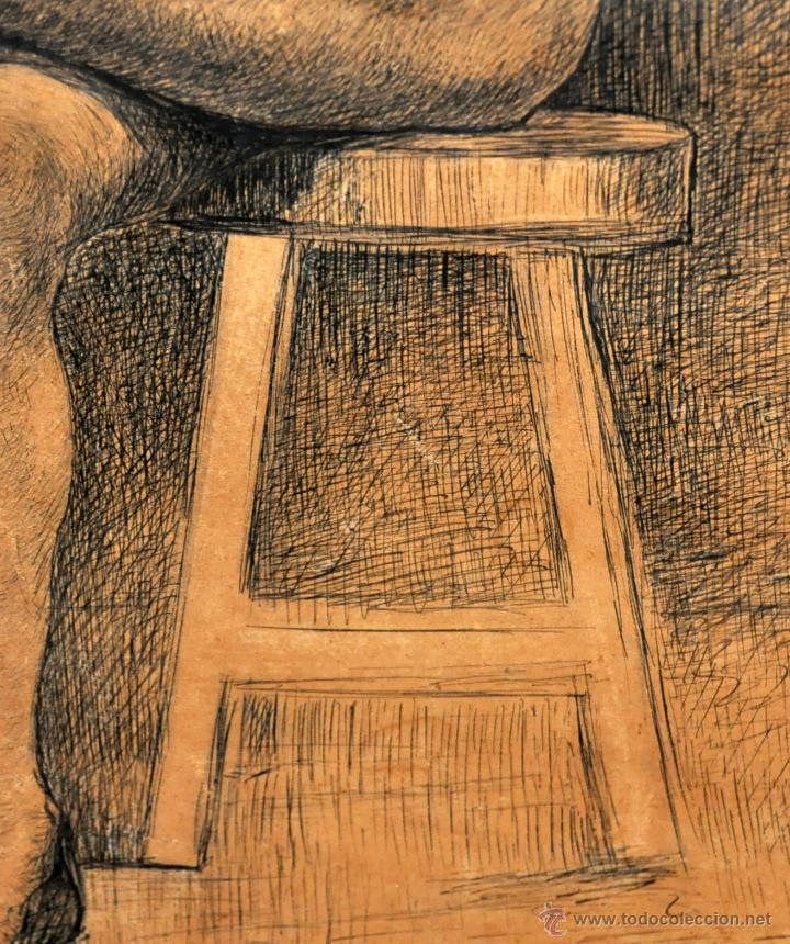 Arte: JOSE JIMENEZ ARANDA (Sevilla, 1837 - 1903) SENSACIONAL DIBUJO A PLUMILLA FECHADO DEL AÑO 1876 - Foto 5 - 54911384