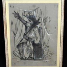 Arte: JOSEP MARÍA CODINA CORONA (IGUALADA 1935) TÉCNICA MIXTA SOBRE PAPEL. Lote 54921413