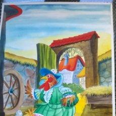Arte: DIBUJOS ILUSTRACIONES 9 ORIGINALES PARA HACER UN COMIC. Lote 54978267