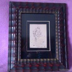 Arte: APELES MESTRES, DIBUJO ORIGINAL 1885 APEL.LES MESTRES 12X10. Lote 55133448