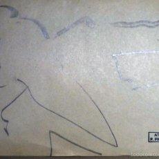 Arte: 51 DIBUJOS CARICATURAS, POR PAUL FROGNIER (ETTERBEEK 1914- MOLENBEEK-SAINT-JEAN 1996). Lote 55183417