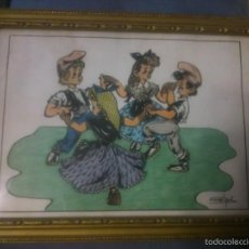 Arte: * DIBUJO ORIGINAL DE GELPI.AÑOS 50. Lote 55693016