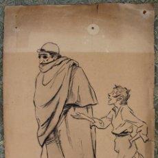 Arte: DI-055. ILUSTRACIÓN PARA L'ESQUELLA DE LA TORRATXA. J.M. XIRÓ TALTABULL (1878-1937). Lote 55749967