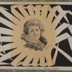 Arte: DI-060. ILUSTRACIÓN PARA L'ESQUELLA DE LA TORRATXA. RAMÓN MIRÓ FOLGUERA (1864-1927). Lote 55772729