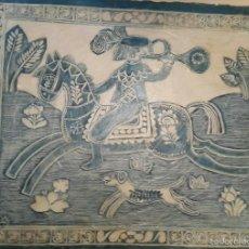 Arte: IMPRESIONANTE PINTURA TÉCNICA MIXTA GALLART GALLEGO??. Lote 55786350