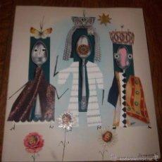 Arte: PAREJA DE FELICITACIONES DE JUAN JOSÉ THARRATS (GIRONA, 1918-BARCELONA, 2001) COLLAGE ORIGINALES.. Lote 55826210