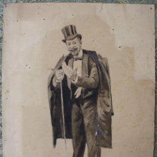 Arte: DI-064. ILUSTRACIÓN PARA L'ESQUELLA DE LA TORRATXA. F. GOMEZ SOLER (C.1860-1889). Lote 55879433