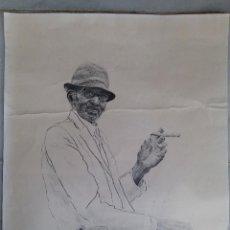 Arte: LITOGRAFÍA FIRMADA MANUEL DOMECQ AÑO 1977. Lote 56123222