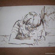 Arte: DIBUJO ORIGINAL DE DIONISIO ROMEU. Lote 56367389