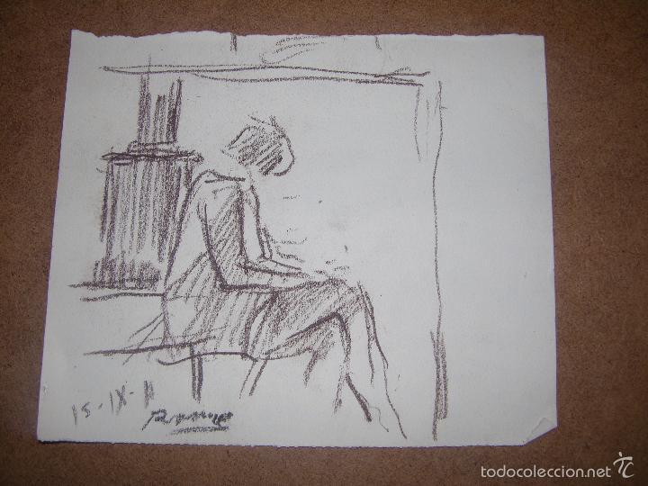 DIBUJO ORIGINAL DE DIONISIO ROMEU (Arte - Dibujos - Contemporáneos siglo XX)