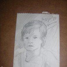 Arte: DIBUJO ORIGINAL DE DIONISIO ROMEU. Lote 56371909