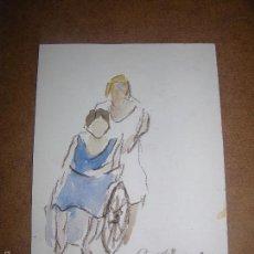 Arte: DIBUJO ORIGINAL DE DIONISIO ROMEU. Lote 56372079