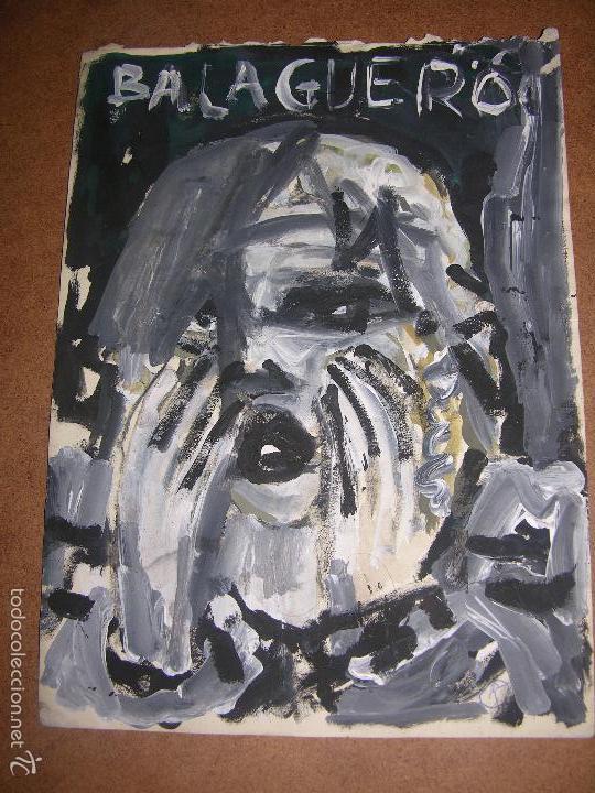 DIBUJO ORIGINAL DE DIONISIO ROMEU MD 29X21 CM (Arte - Dibujos - Contemporáneos siglo XX)