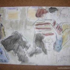 Arte: DIBUJO ORIGINAL DE DIONISIO ROMEO MD 21X15CM. Lote 56388214