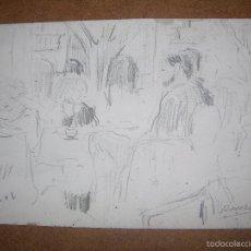 Arte: DIBUJO ORIGINAL DE DIONISIO ROMEO MD 21X15CM. Lote 56388243