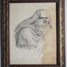 Arte: VIRGEN -J TRIGO. Lote 56426287