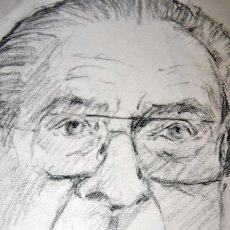 Arte: DIBUJO AL CARBONCILLO. Lote 56439301
