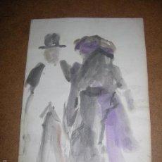 Arte: DIBUJO ORIGINAL DE DIONISIO ROMEO MD 25X18CM. Lote 56465439