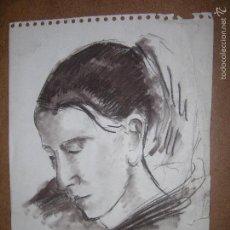 Arte: DIBUJO ORIGINAL DE DIONISIO ROMEO MD 29X21CM. Lote 56465555