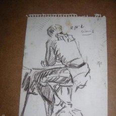 Arte: DIBUJO ORIGINAL DE DIONISIO ROMEU MD 19X15CM. Lote 56466097