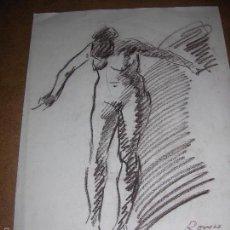 Arte: DIBUJO ORIGINAL DE DIONISIO ROMEU MD 42X30CM. Lote 56466136