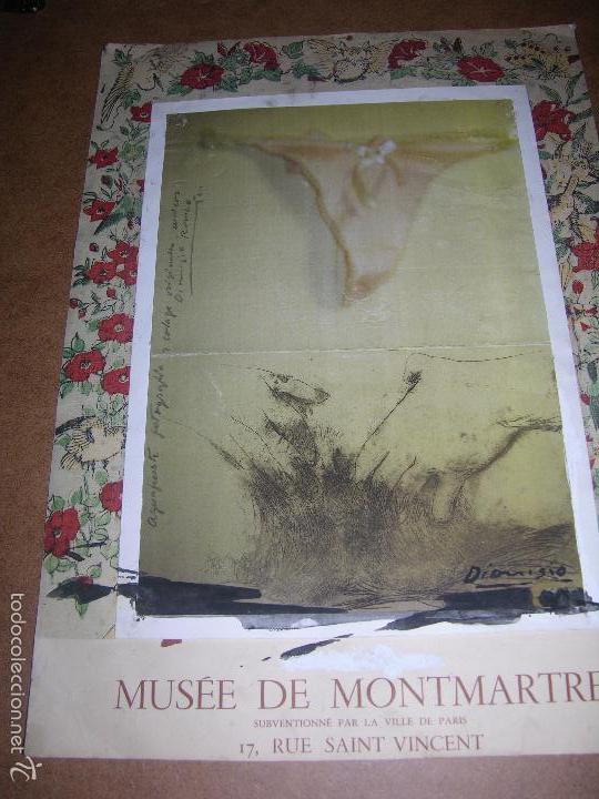 DIBUJO AGUA FUERTE FOTOGAFICO DE DIONISIO ROMEU MD 42X30CM (Arte - Dibujos - Contemporáneos siglo XX)