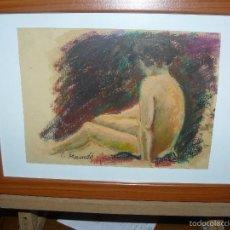 Arte: CERA - FIRMADA I MUNDÓ - DESNUDO. Lote 56531624