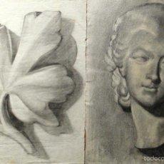 Arte: MARÍA PASCUAL PELLICER (REUS). CERAS/PAPEL 31 X 24 CM (2). UNO DE ELLOS FIRMADO M.. Lote 56536701