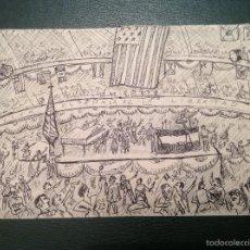 Arte: ANÓNIMO. LA FIESTA.. Lote 56642659