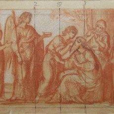 Arte: ANÓNIMO. DIBUJO S. XVIII. MALLORCA. BALEARES. Lote 56733033