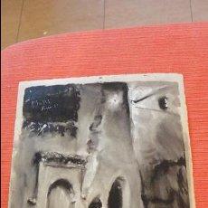 Arte: ANTIGUO DIBUJO A TINTA O ACUARELA SOBRE PAPEL.FIRMADO A.SALAS.XAUEN? 1955.. Lote 56994932