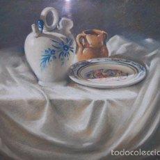 Arte: BODEGÓN FIRMADO POR EL ARTISTA RAFAEL LOPEZ POZO. CON CERTIFICADO DE AUTENTICIDAD. Lote 57080425