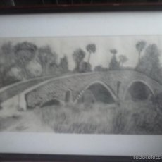 Arte: CUADRO DIBUJO A LAPIZ . VIC .. Lote 57224586