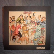 Arte: DIBUJO ORIGINAL SERRA MASSANA - AÑO 1924 - DIBUJANTE T.B.O.EXCEPCIONAL.. Lote 57271502