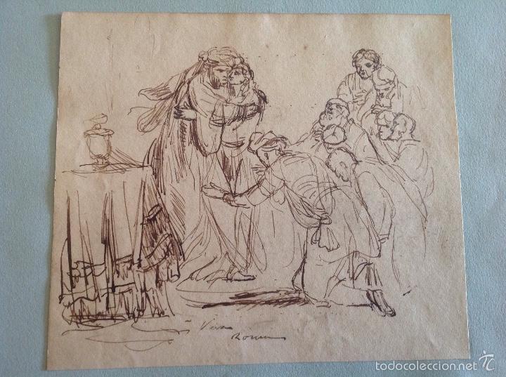 ALEJO VERÁ. PERSONAJES (Arte - Dibujos - Modernos siglo XIX)