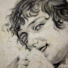 Arte: DI-075. MAJA CON MANTILLA. DIBUJO AL GRAFITO SOBRE PAPEL. JOSEP LLOVERA BOFILL. ESPAÑA. CIRCA 1885. Lote 57304634